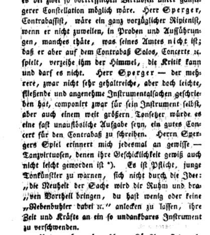 Sperger BMZ 1805
